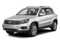 2013 Volkswagen Tiguan S 4Motion EXCLUSIVE LIFETIME
