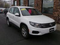 This Volkswagen Tiguan has a strong Turbocharged Gas I4