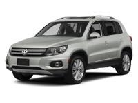 Options:  2013 Volkswagen Tiguan Se|Reflex Silver