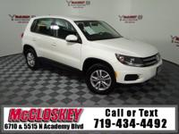 Time to get yourself in this Tiguan! All Wheel Drive,