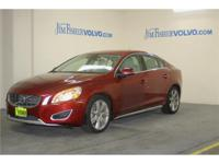 This 2013 Volvo S60 T6 only has 10,644 miles! Features