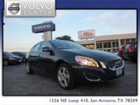VOLVO CERTIFIED! This 2013 Volvo S60 w/
