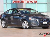 Dublin Toyota is pleased to offer this 2013 Volvo S60.
