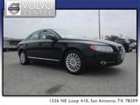 This 2013 S80 full-size four-door sedan has several of