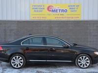 CARFAX One-Owner. Black Stone 2013 Volvo S80 T6 AWD!!!