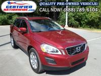 LOW MILES. This 2013 Volvo XC60 is perfectly geared up