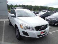 Clean CARFAX. Cosmic White Metallic 2013 Volvo XC60 T6