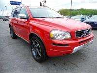 This Red 2013 Volvo XC90 AWD 4DR R-DESIGN might be just