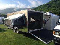 "Its a 2013 VRV light weight 22' X 8'5"" wide toy hauler"