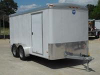 2014 Wells Cargo Road Force 7 X 14 Cargo Trailer