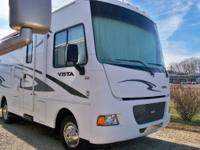 This is a Winnebago Vista 26HE 2013. Bought brand new.