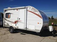 2013 Wolf Pup 17B SE  THIS UNIT is GREAT with a SMALLER
