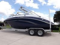 Beautiful Fully Loaded 2013 Yamaha 242 Limited S with