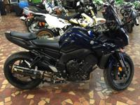 Consider the FZ1 as an upright R1 ready to take on the