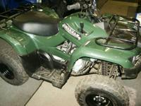 New 2013 Yamaha Grizzly 300 2wd  - Fully Automatic -