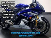 2013 YAMAHA R6 Need Financing? We help all types of