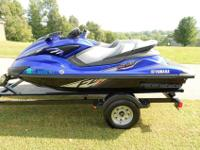 FOR SALE IS A 2013 YAMAHASHO FZS WAVERUNNERSAVE