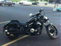 2013 Yamaha Stryker. This Black Stryker is in Perfect