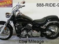 2013 Yamaha VStar 650 Custom for sale with only 2,648