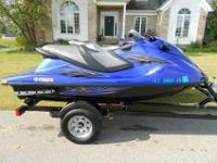 FOR SALE IS A 2013 YAMAHA VXR WAVERUNNERONLY 35