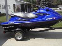 For sale 2013 yamaha VXR 3 individual wave runner. High