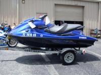 2013 Yamaha Wave Runner VXR HO With Continental