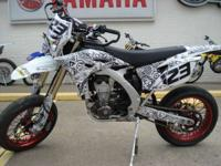 2013 Yamaha WR 450F SuperMoto Wheelie Machine Titled