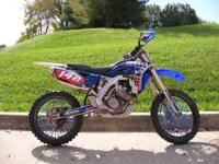 2013 Yamaha YZ250F VERY SHARP LOOKING BIKE! YZ250F