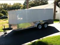 2013 freedom trailer dual axle electric brakes ramp