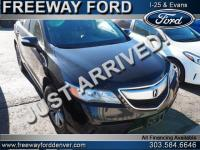 Crystal Black Pearl 2013 Acura RDX AWD 6-Speed
