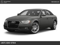 2013 Audi A4 Our Location is: Mercedes-Benz Of Sarasota