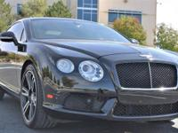 Our 2013 Bentley Continental GT V8 is presented in