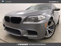 SUPER RARE 6-SPEED MANUAL M5! GREAT MILES 51,449! WAS