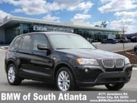 New Price! Black Sapphire Metallic 2013 BMW X3