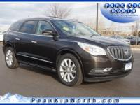 Mocha Bronze Metallic 2013 Buick Enclave Premium Group