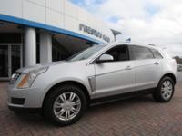 2013 Cadillac SRX Luxury FWD Silver 6-Speed Automatic