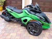 This Can-am is in excellent condition with only 12600