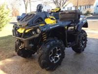 One badass 2013 Can am 650 Xmr mud machine with only