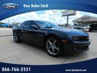 Don Bohn Ford presents this 2013 CHEVROLET CAMARO 2DR