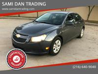 2013 Chevrolet Cruze super clean, priced low to