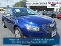 Take a look at this 2013 Chevrolet Cruze LS. This Cruze