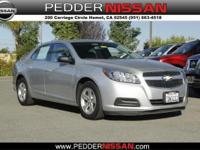 This 2013 Chevrolet Malibu 4dr Sdn LS w/1LS is provided