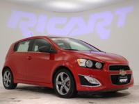 2013 Chevrolet Sonic RS, MotorTrend Certified, and