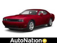 2013 Dodge Challenger Our Area is: AutoNation Chevrolet
