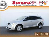 2013 DODGE JOURNEY, 2.4 L I4 AUTO, BRIGHT SILVER