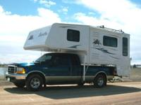 The Eagle Cap Truck Camper 1160 Model features a new