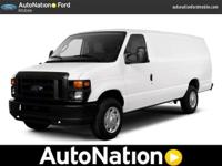 Although this 2013 Econoline Cargo Van Commercial is