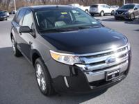 New Price! Black 2013 Ford Edge SEL AWD 6-Speed
