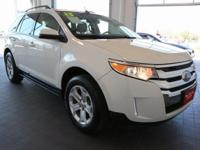 Options:  2013 Ford Edge Sel|White|**Power