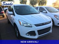 Clean CARFAX. Oxford White 2013 Ford Escape SE FWD